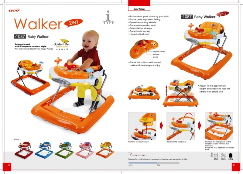 Sit & Push Walker
